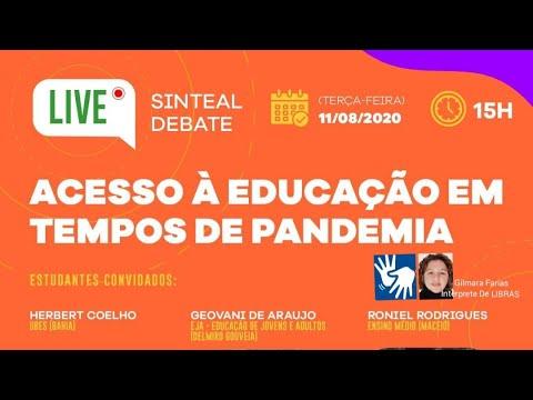 Acesso à educação em tempos de pandemia