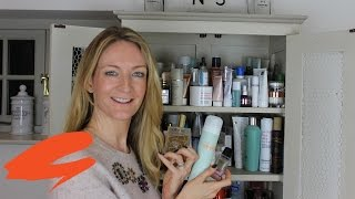 What's In My Bathroom Cabinet? (bath, Body And Hair - Editor's Vlog) | Get The Gloss