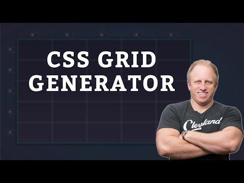 CSS Grid Tutorial | Create Grid Layouts Using CSS Grid Generator