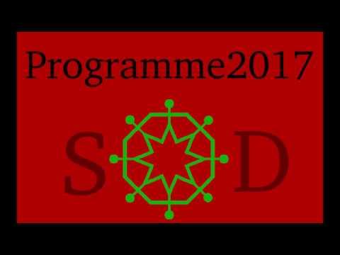 Parti Social Démocrate programme 2017