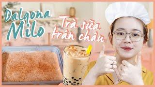 Đột nhập hội YÊU BẾP học cách làm bánh Dalgona Milo siêu hot, trà sữa trân châu chuẩn vị | Hạnh Chee