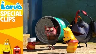 official games - fun clips from animation larva