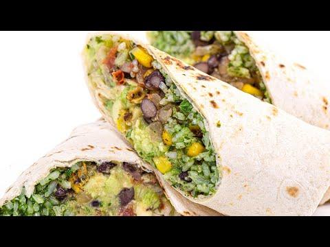 How To Make Vegan Burritos By Rachael
