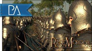 Gondor to Arms: Battle Against Uruk-Hai - Total War: Rise of Mordor Mod Gameplay