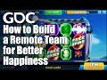 How to Build a Remote Team for Better Happiness