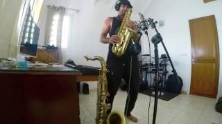 Billie Jean - Michael jackson (Jimmy Sax live Training )