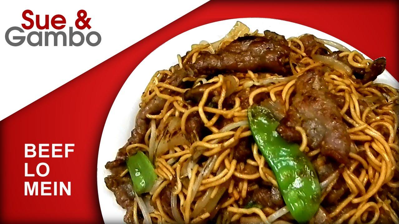 Beef Lo Mein Recipe Youtube