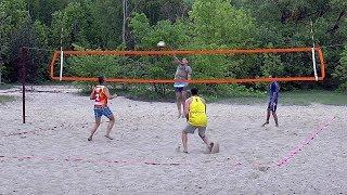 Пляжный волейбол. FullHD. Матч за 3-е место
