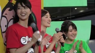 森ちゃんのラーメンフェスタ 2018/11/9 大阪城公園 初日の生放送後に行...