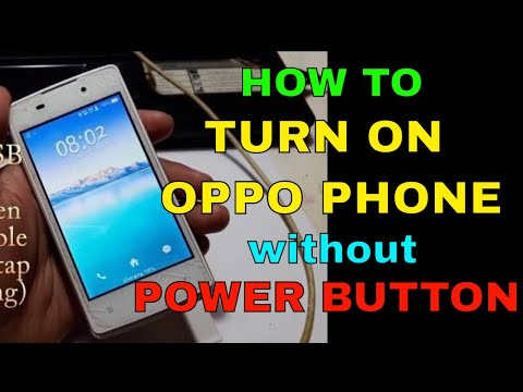 download How To Turn On Oppo Joy Plus without Power Button