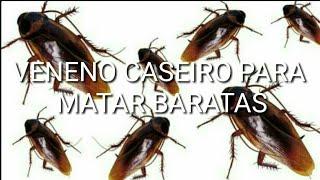 vuclip VENENO CASEIRO PARA MATAR BARATAS COM 02 INGREDIENTES