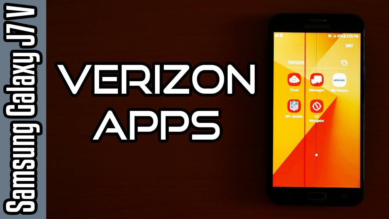 💡Samsung Galaxy J7 V (Verizon) Tricks🔨:Verizon Apps! [4K]