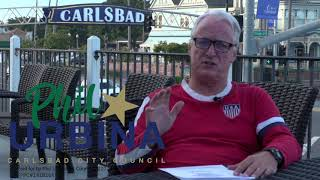 Richard Duquette supporting Phil Urbina for Carlsbad City Council (Full Video)