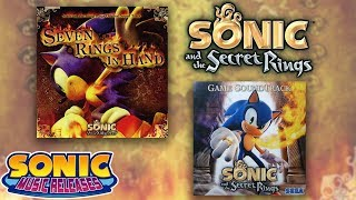 Sonic Music Releases - Sonic and the Secret Rings OSTs