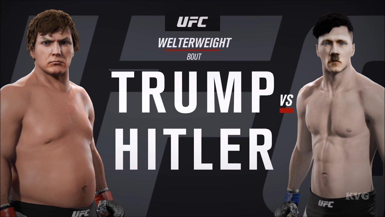EA Sports UFC 2 - DONALD TRUMP vs ADOLF HITLER | Gameplay (HD ...