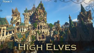 High Elf Darwin Reforged Server Elven Contest Build YouTube