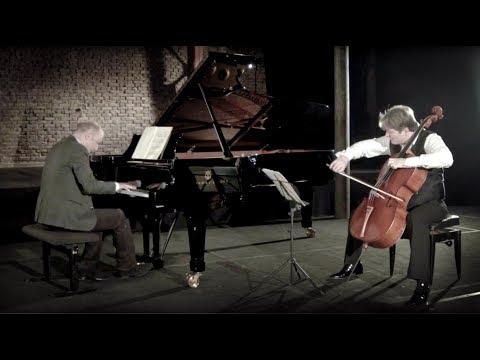 Brahms Cello Sonata No. 2 opus 99 in F major - Jérôme Pernoo & Jérôme Ducros