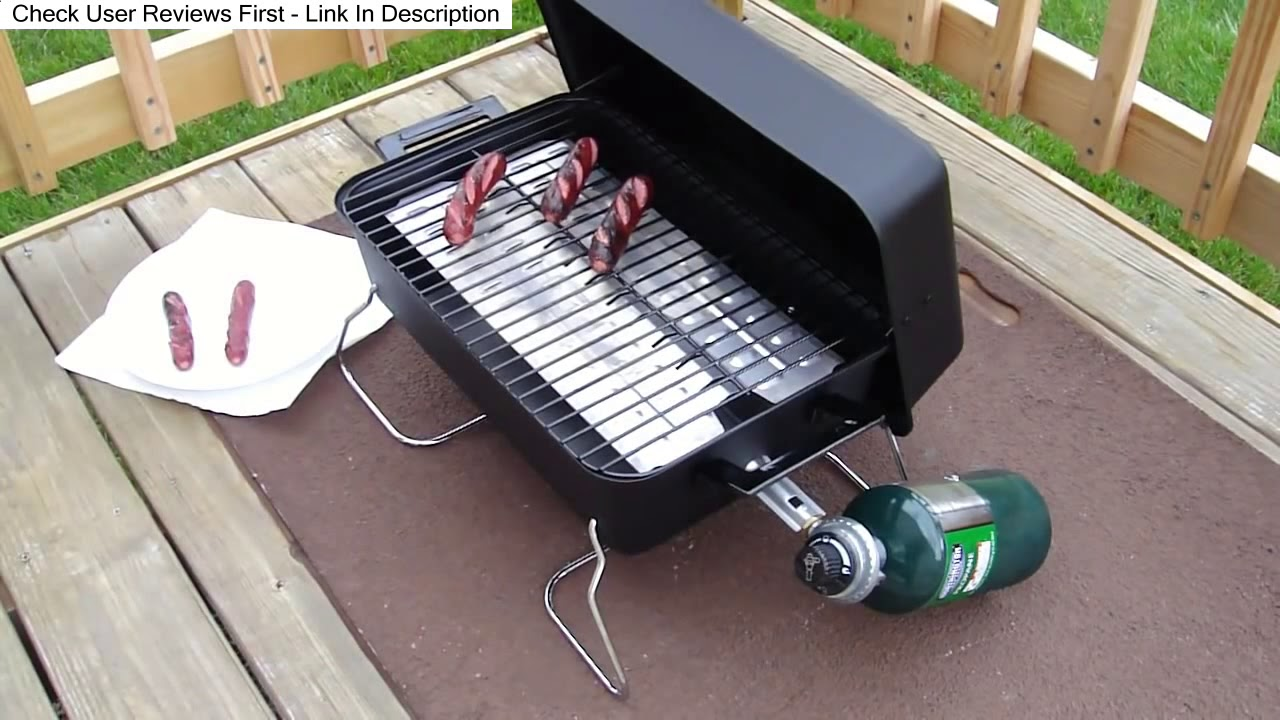 Char Broil 190 Table Top Gas Grill (465133010) UNBIASED Review