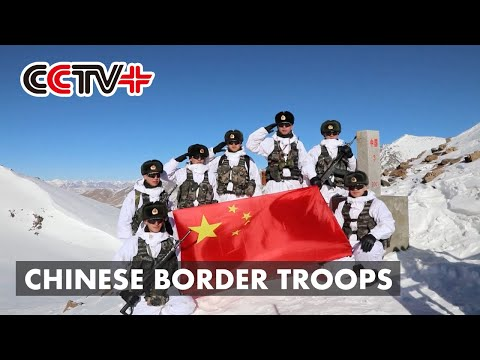 Chinese Border Troops Brave Freezing Temperatures to Ensure Border Security