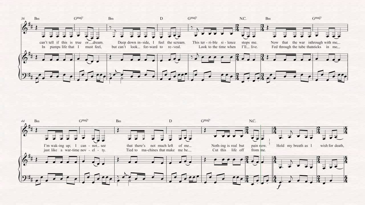 Bari sax one metallica sheet music chords vocals youtube bari sax one metallica sheet music chords vocals hexwebz Image collections