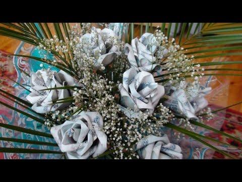 DIY:Денежные розы