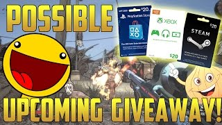 UPCOMING GIVE AWAY! | Steam Card, Xbox Card, or Playstation Card | Are You Interested?