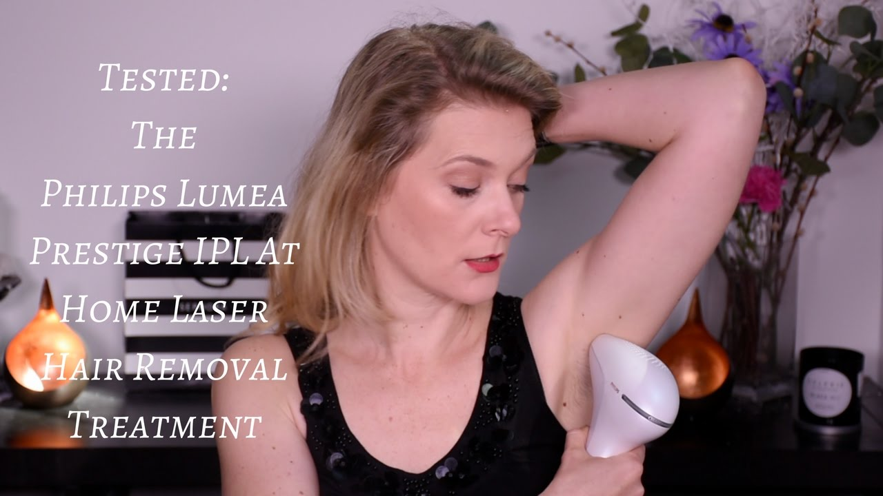 Philips Lumea Prestige Ipl At Home Laser Removal Youtube