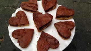 Valentines Day Triple Chocolate Brownies | Gluten Free