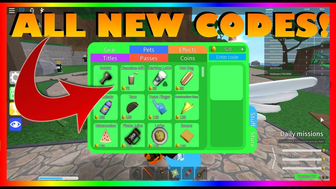 Codes All New Epic Minigames Codes 2020 Roblox Youtube