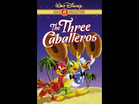 Opening To The Three Caballeros 2000 VHS