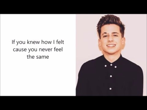 Charlie Puth - Your Name Lyrics