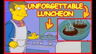 Simpsons steamed hams, but skinner actually cooks patented burgers on the stove!! inc. new scenes!