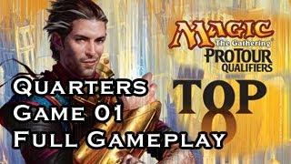 ptq theros quarter finals game 01 full gameplay 06 29 2013