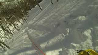 snow canyoning 2014