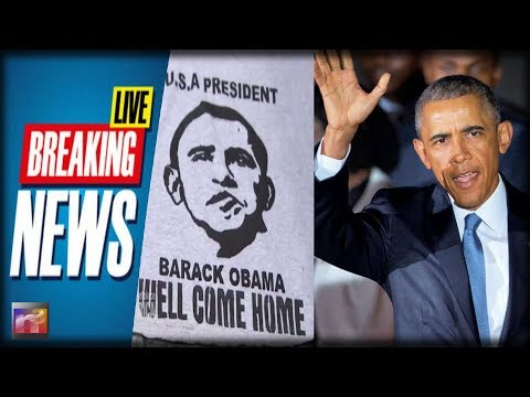 BREAKING: Kenya CELEBRATES As Obama Returns to the Place of His Birth