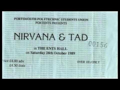 Nirvana - Portsmouth Polytechnic, Portsmouth, UK (10/28/89)