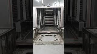 구운계란기계와 유압리프트 자동화설비