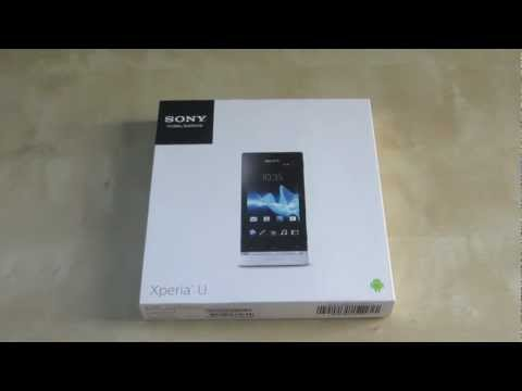 Unboxing: Sony Xperia U (White)
