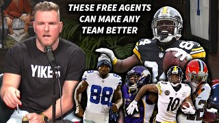 Pat McAfee Says These Free Agent WRs Could Make ANY Team Better