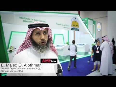 Saudi Arabia Ministry of Justice at GITEX Technology Week 2015