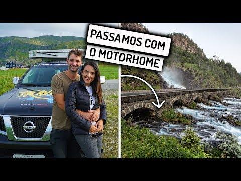 PERIGO NA ESTRADA, DIRIGINDO NO MEIO DA CACHOEIRA  | Travel and Share | Romulo e Mirella | T4 Ep.261