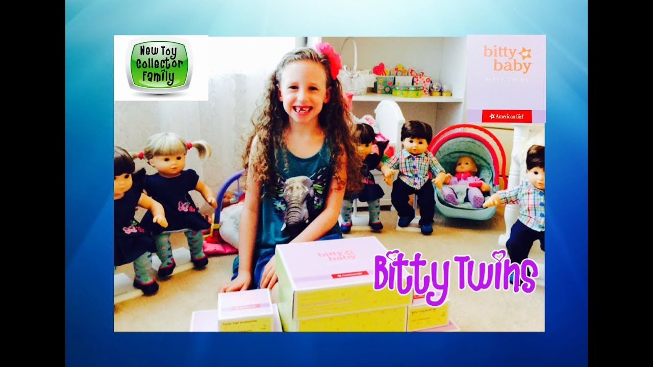 Unboxing American Girl Bitty Baby Bitty Twins Baby Doll Accessories