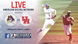 2019 American Baseball Championship: No. 1 ECU vs. No. 5 Houston