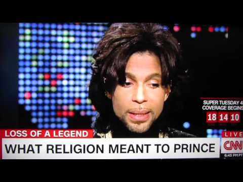 Prince at his Kingdom Hall of Jehovah's Witnesses