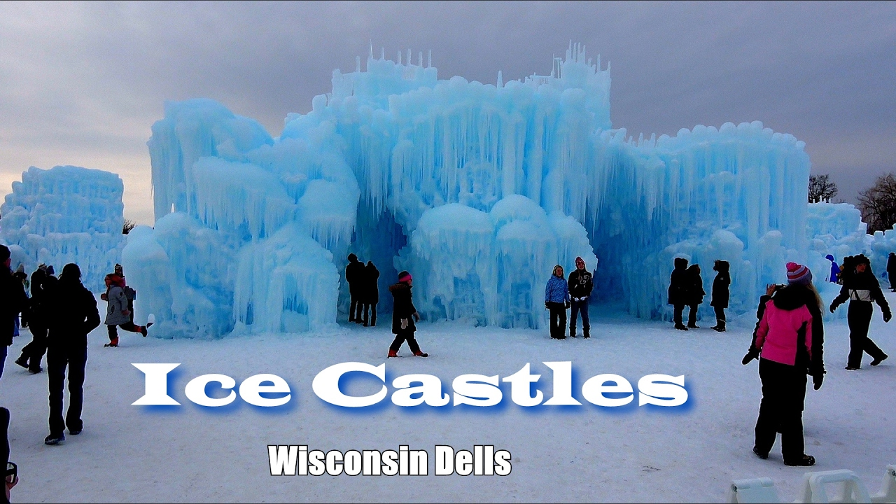 ice castles at wisconsin