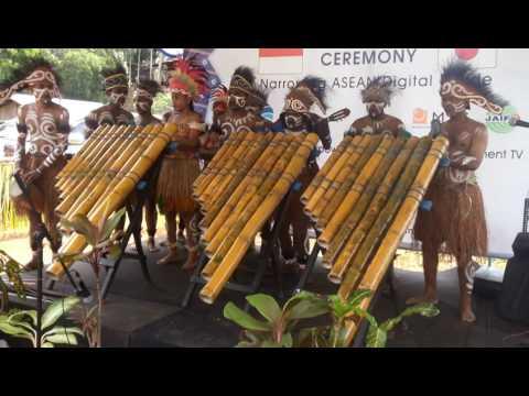 Musik bambu Biak Papua