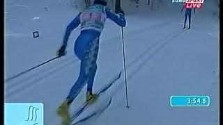 Лыжные гонки. Чемпионат мира 2001. Лахти. Эстафета 4х5. Женщины