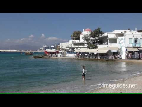 The Cyclades, Greece, Mykonos Town 4K