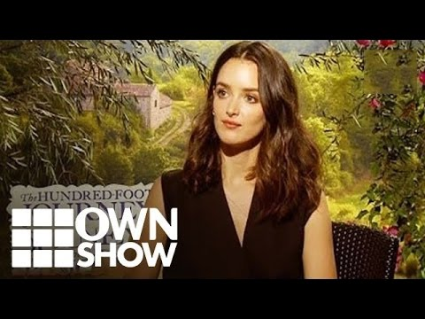 Charlotte Le Bon : The Hundred Foot Journey  OWN  Oprah Online