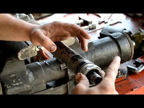 Киа рио ремонт рулевой рейки своими руками